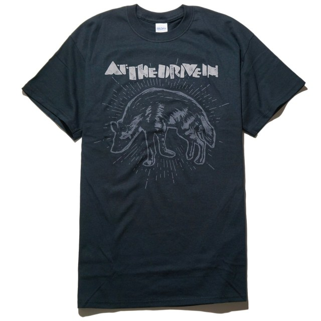 At The Drive In  Tシャツ Hyena-Black
