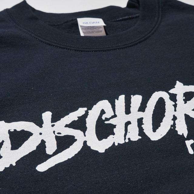 DISCHORD RECORDS スウェットシャツ トレーナー/ Old Logo Crewneck - Black