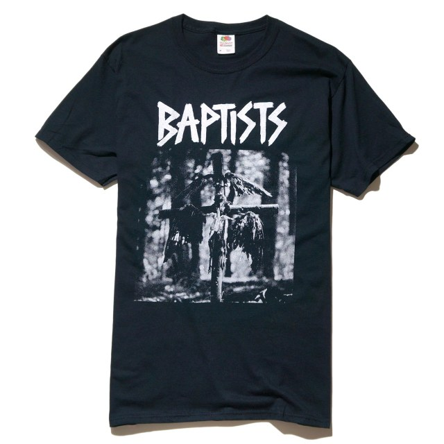 BAPTISTS Tシャツ First Seven Inch-Black