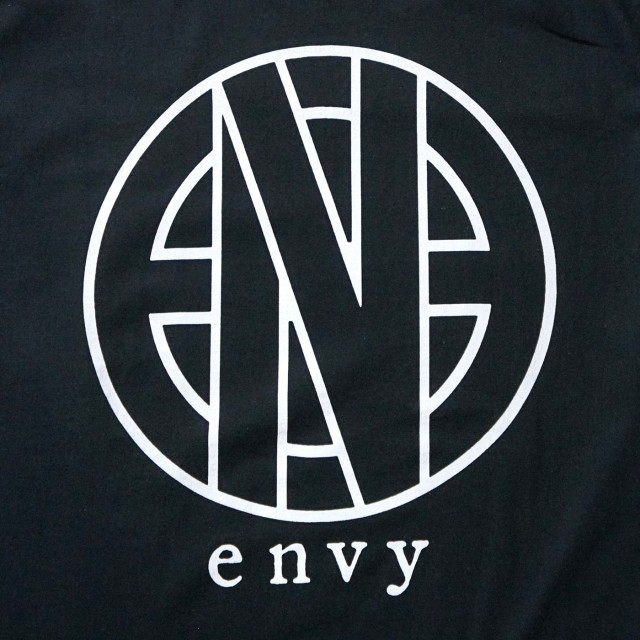 【お取り寄せ】 envy Tシャツ Logo-Black