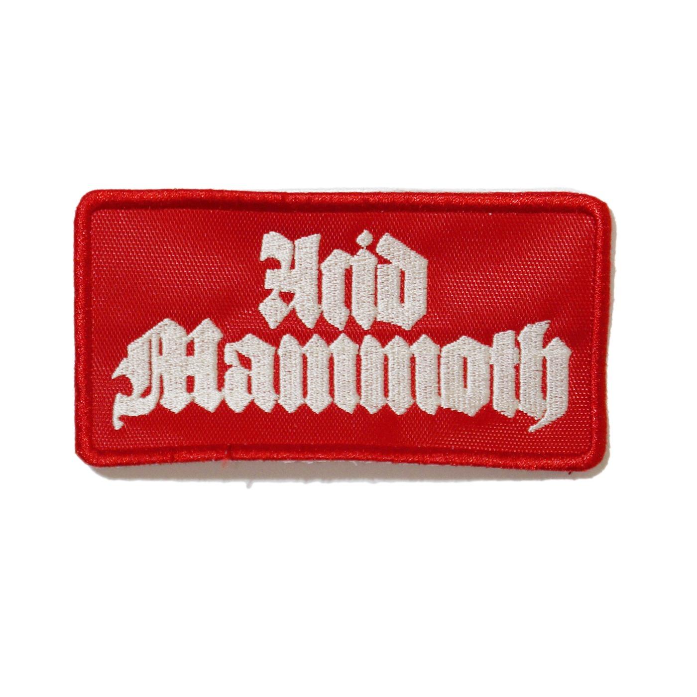 ACID MAMMOTH - パッチ Red