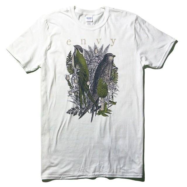 【お取り寄せ】 envy Tシャツ Birds-White