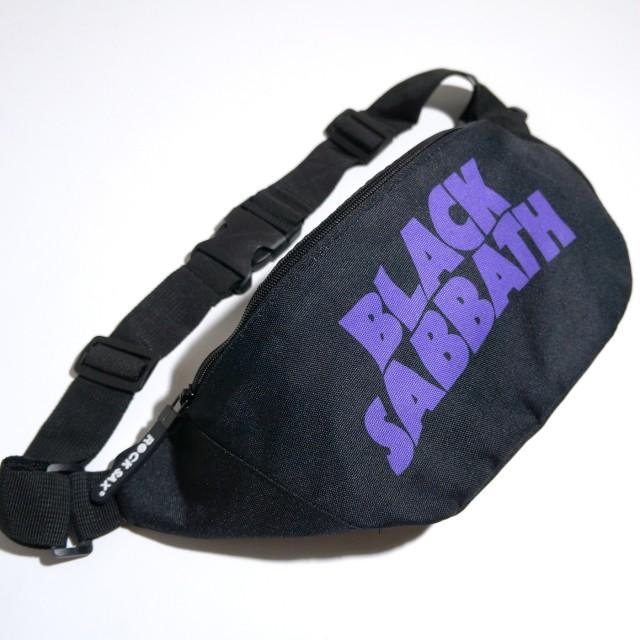 BLACK SABBATH ウエストポーチ ボディバッグ Sabbath Logo -Blk