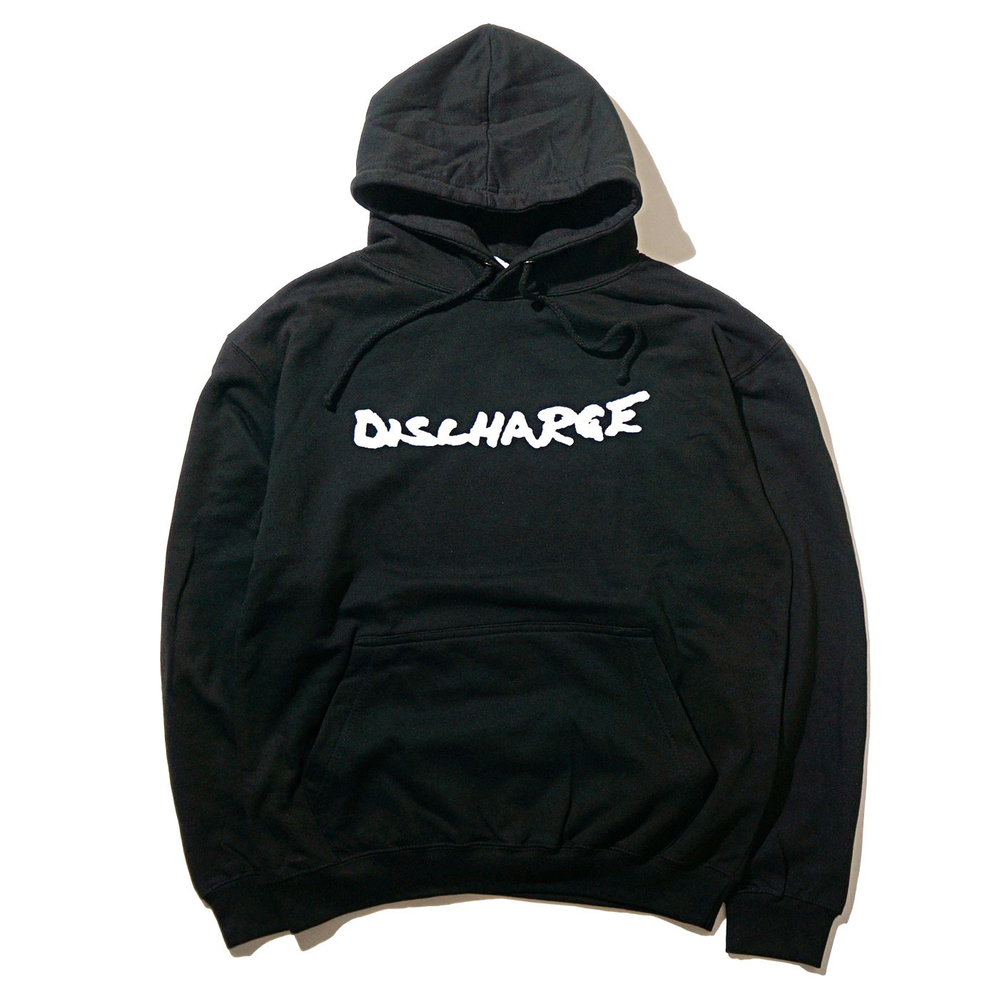 DISCHARGE パーカー Never Again-Black
