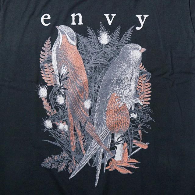 【お取り寄せ】 envy Tシャツ Birds-Black