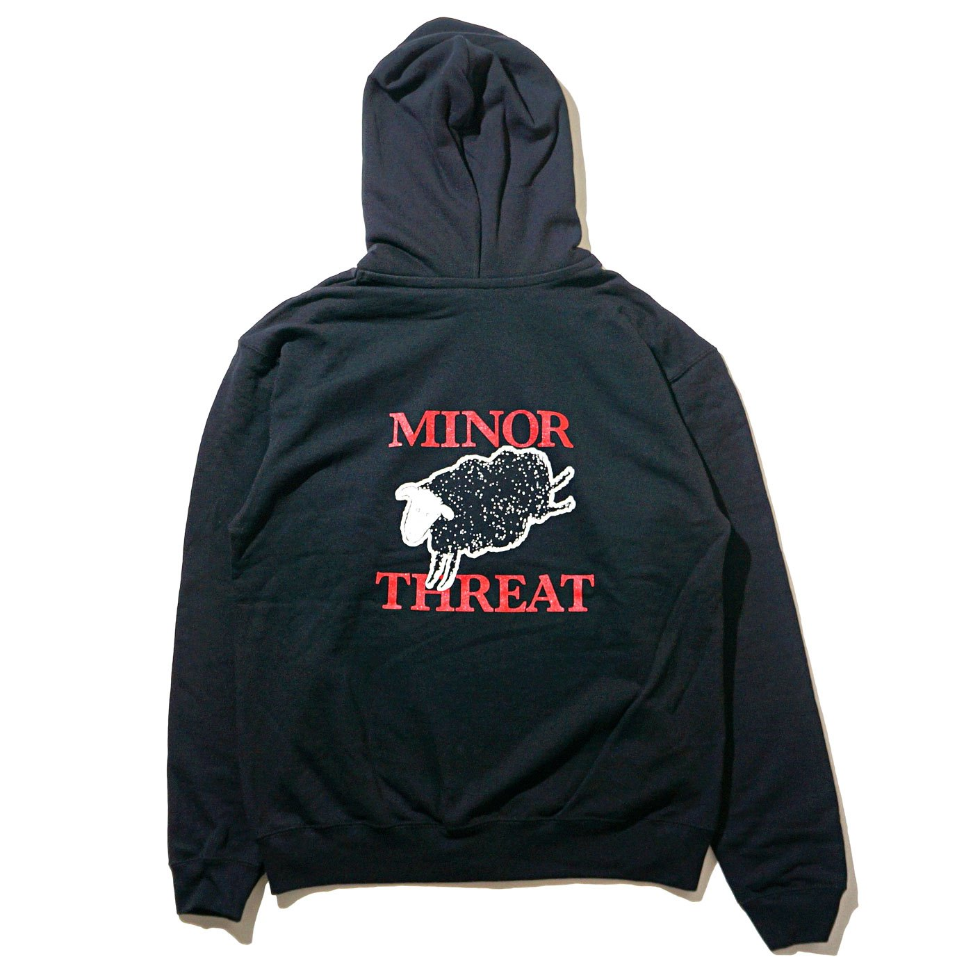 MINOR THREAT ジップアップパーカー Out Of Step