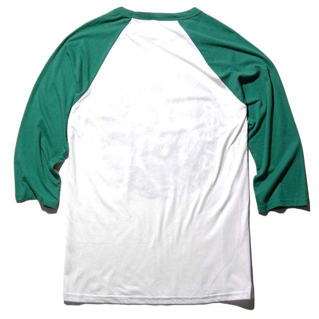 SLEEP ラグランTシャツ The Clarity Astronaut Raglan - Green/White