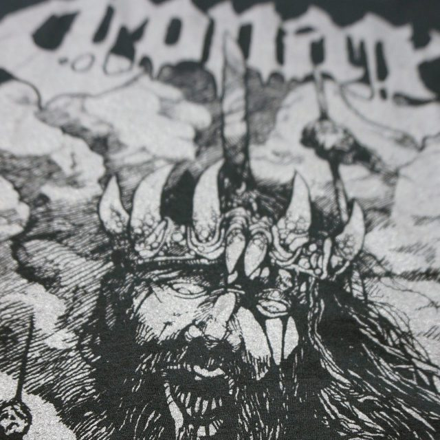 CONAN バンド Tシャツ Heads On Poles - Black