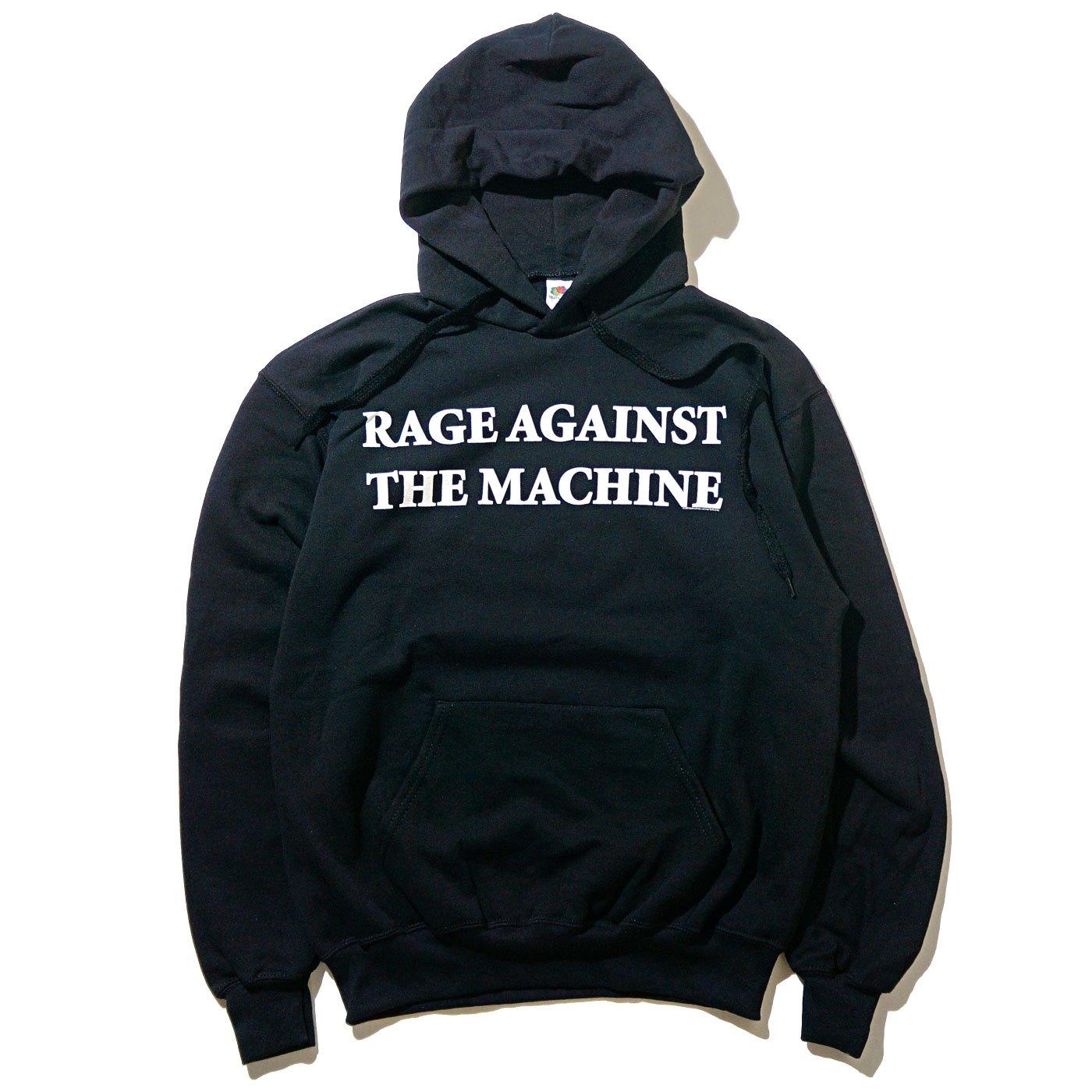 RAGE AGAINST THE MACHINE パーカー Burning Heart-Black