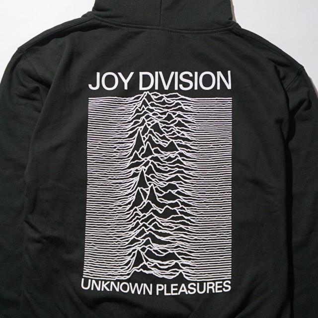 JOY DIVISION ジップアップ・パーカー Unknown Pleasure-Black