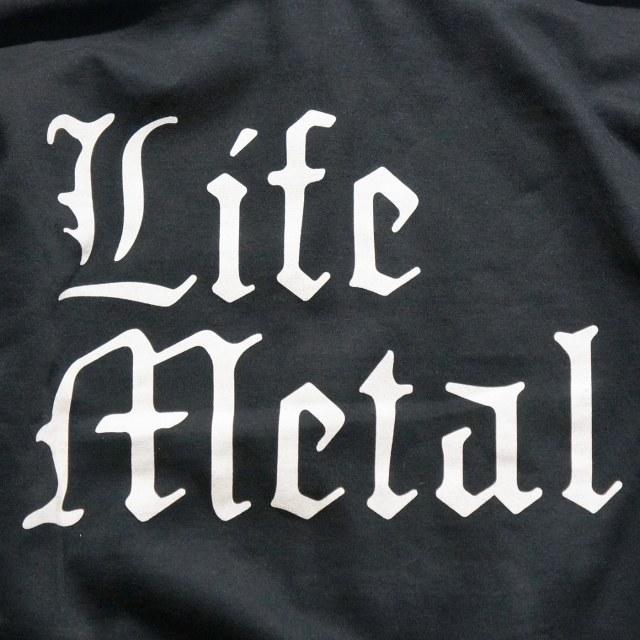 SUNN O))) ジップアップパーカー Life Metal -Black