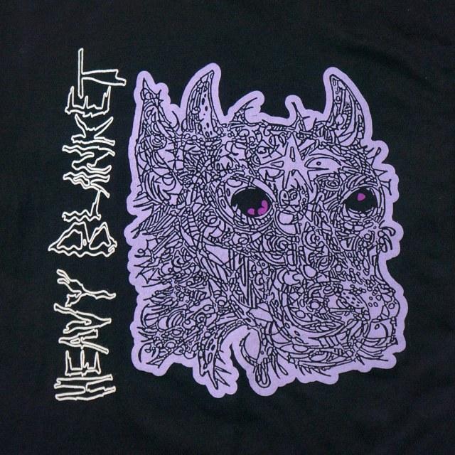 Heavy Blanket ヘヴィ・ブランケット Tシャツ -Black