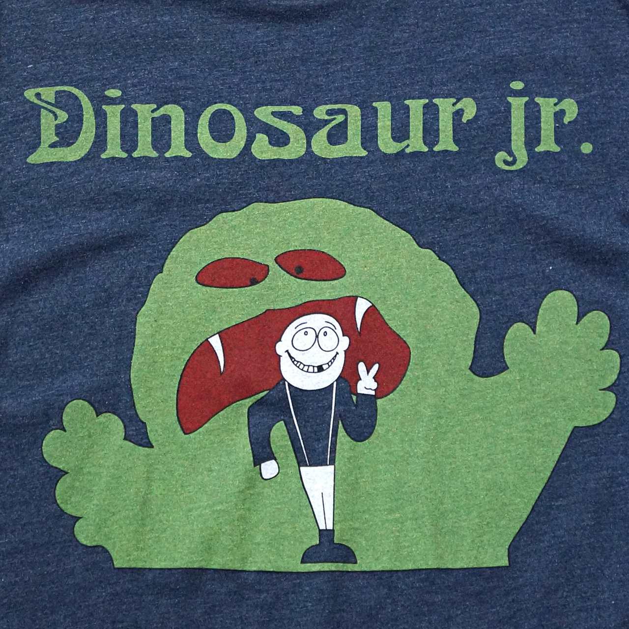DINOSAUR Jr. Tシャツ Faded Monster-Navy