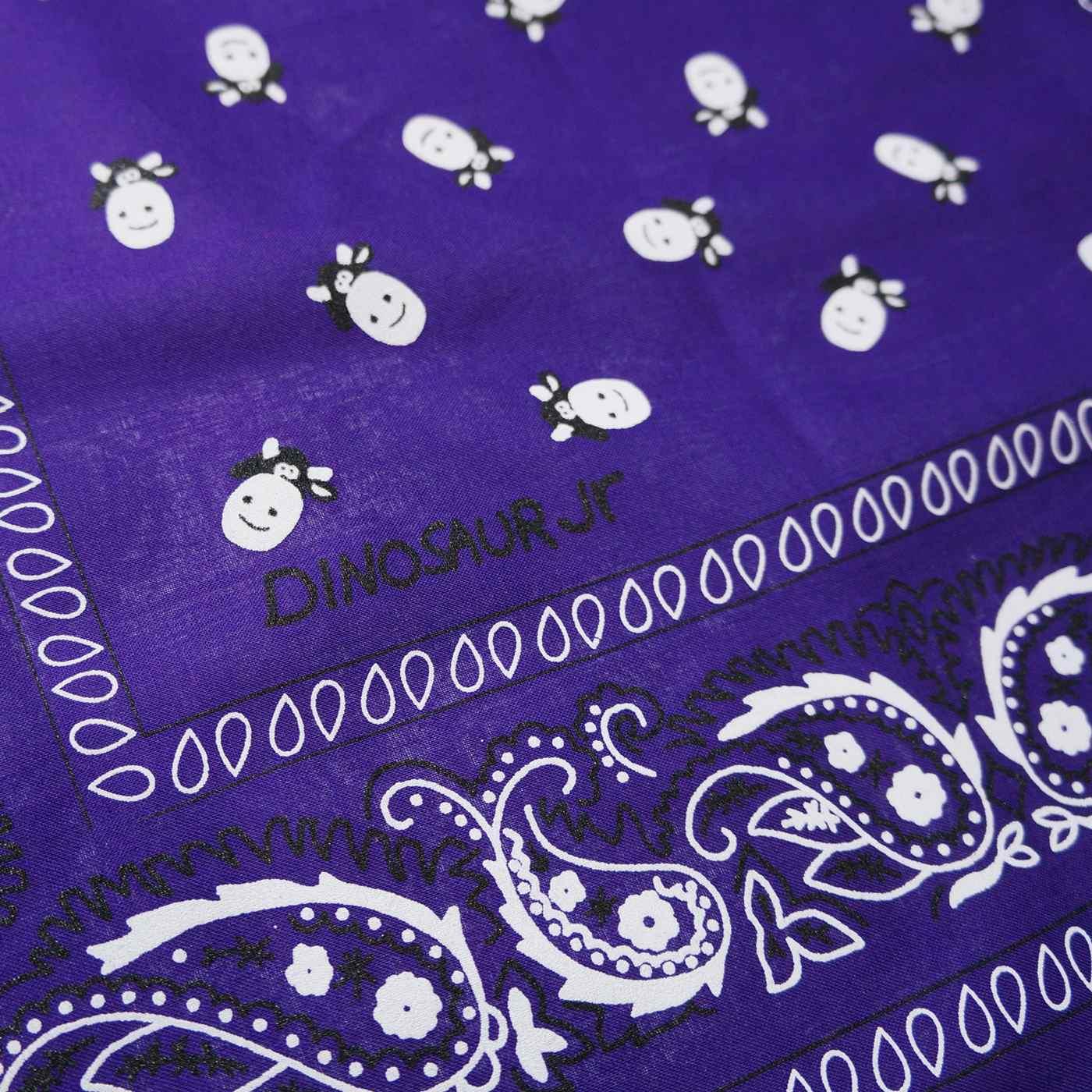DINOSAUR Jr. バンダナ Cow Bandana-Purple