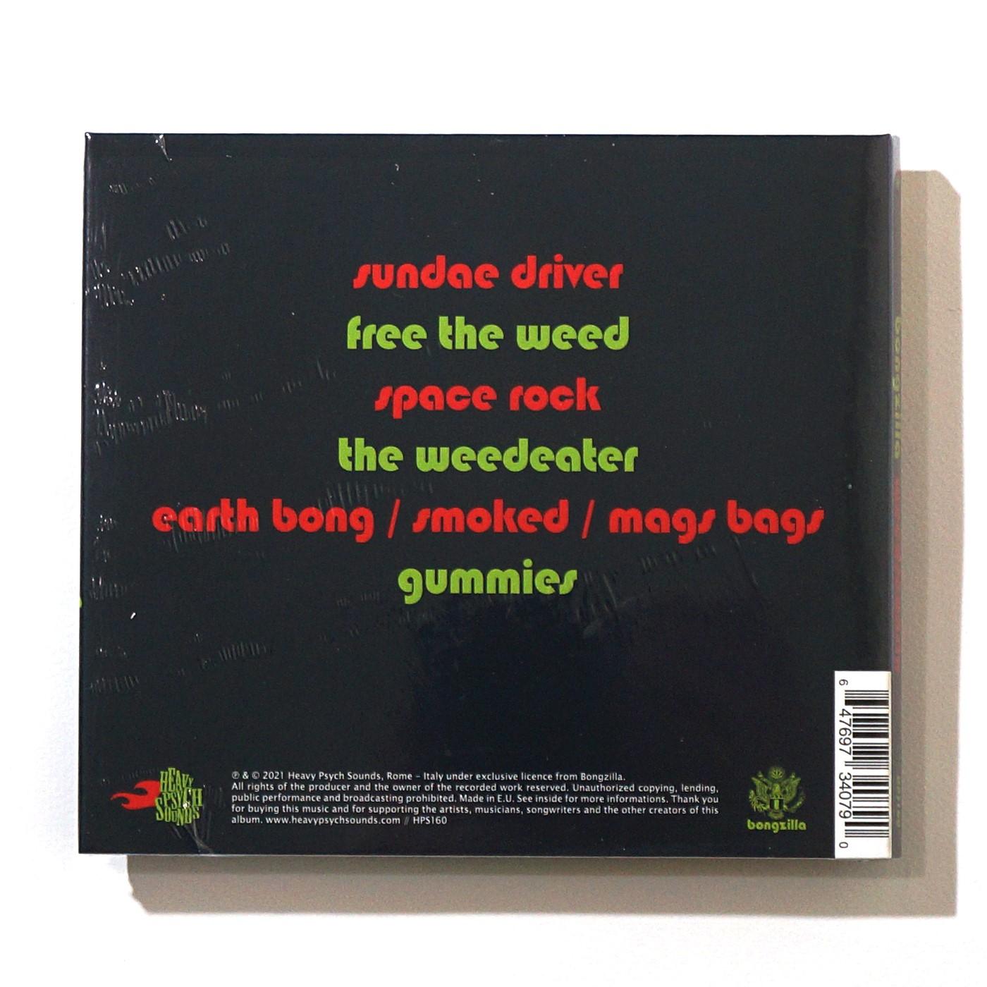 BONGZILLA-Weedsconsin(CD)