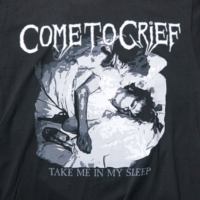 COME TO GRIEF ロングスリーブシャツ Take Me In My Sleep-Black