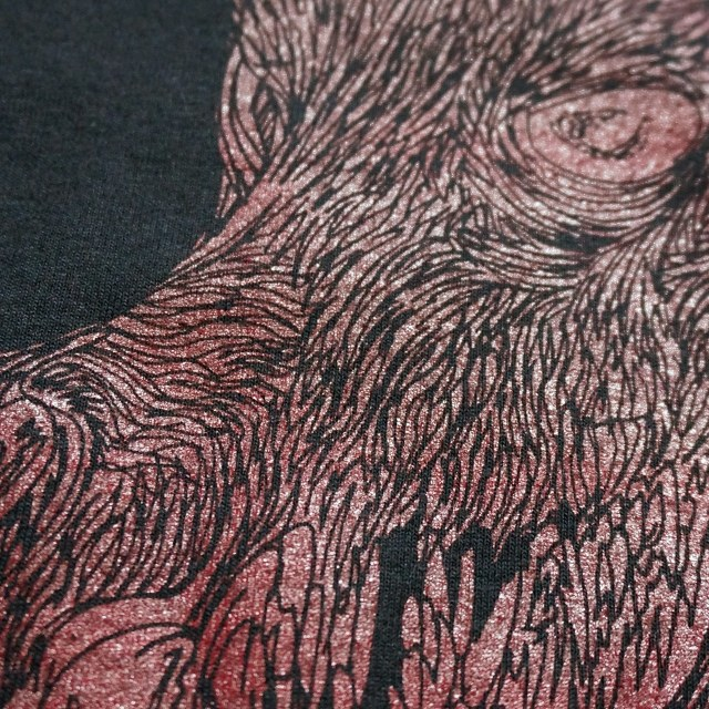 SUNN O))) Tシャツ Candlewolf of thee Golden Chalice-Blk