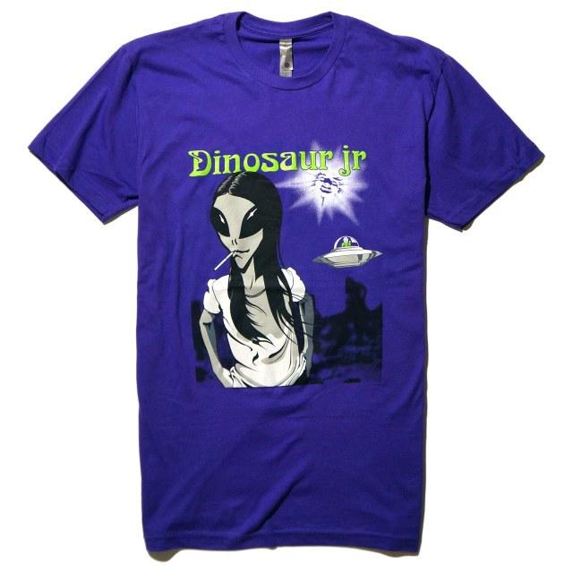 Dinosaur Jr. (ダイナソーJr) Tシャツ Alien - Purple