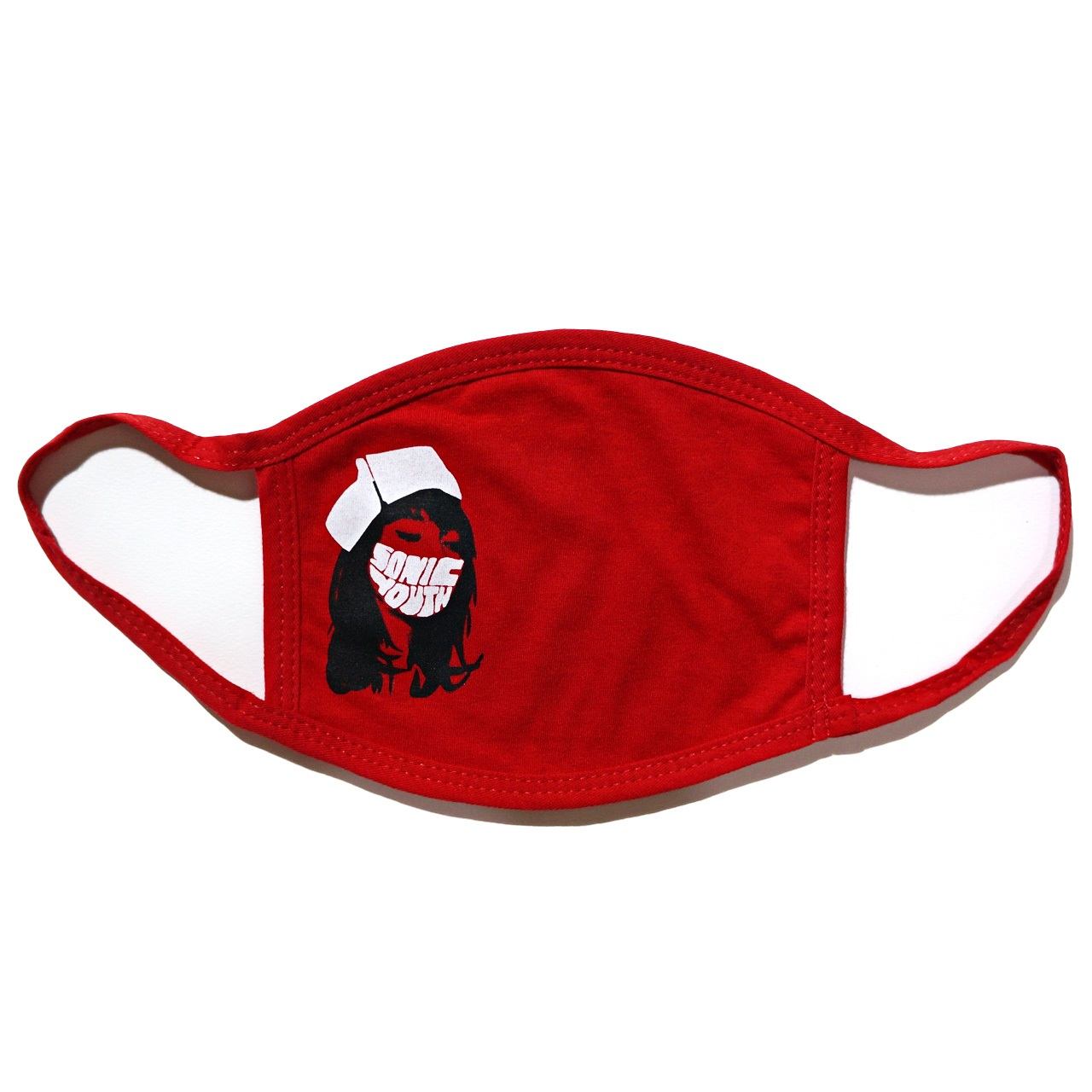 SONIC YOUTH マスク Nurse Face Mask-Red