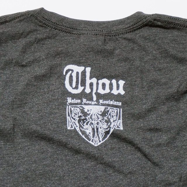 THOU バンド Tシャツ/Sophie Scholl - Charcoal