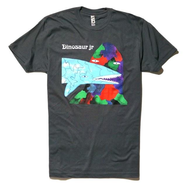 Dinosaur Jr. (ダイナソーJr) Tシャツ Shark - Grey