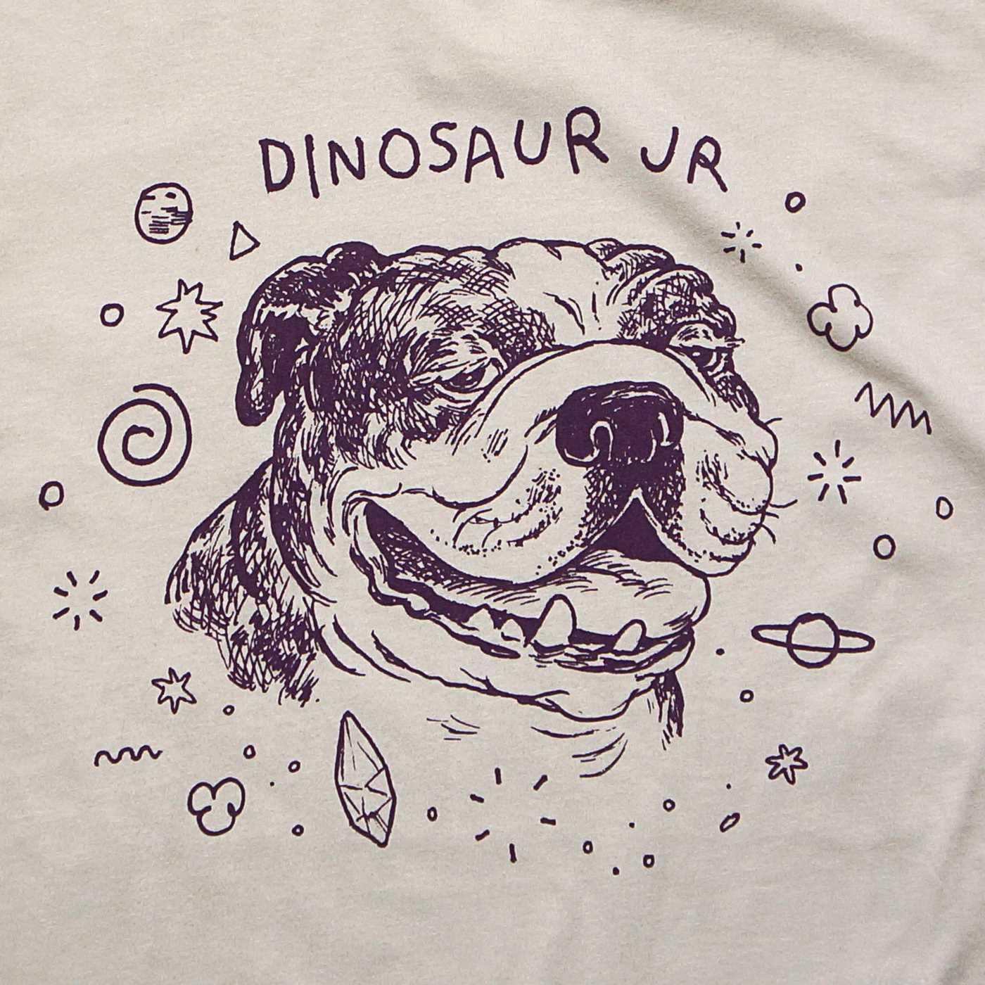 Dinosaur Jr. (ダイナソーJr) Tシャツ Bulldog-Natural