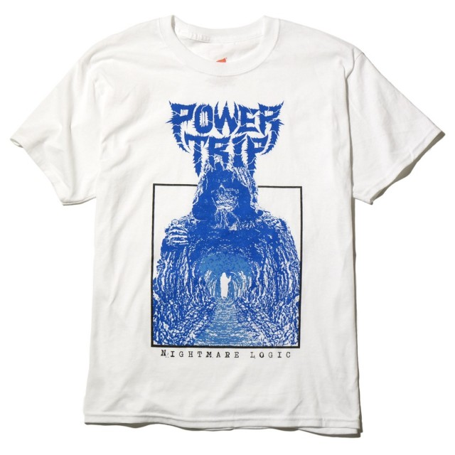 Power Trip Tシャツ Nightmare Logic Death Tunnel - White