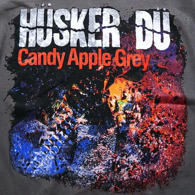 HUSKER DU Tシャツ Candy Apple Grey Cover