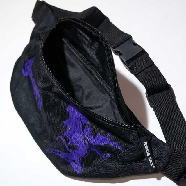 BLACK SABBATH ウエストポーチ ボディバッグ Demon Purple -Blk