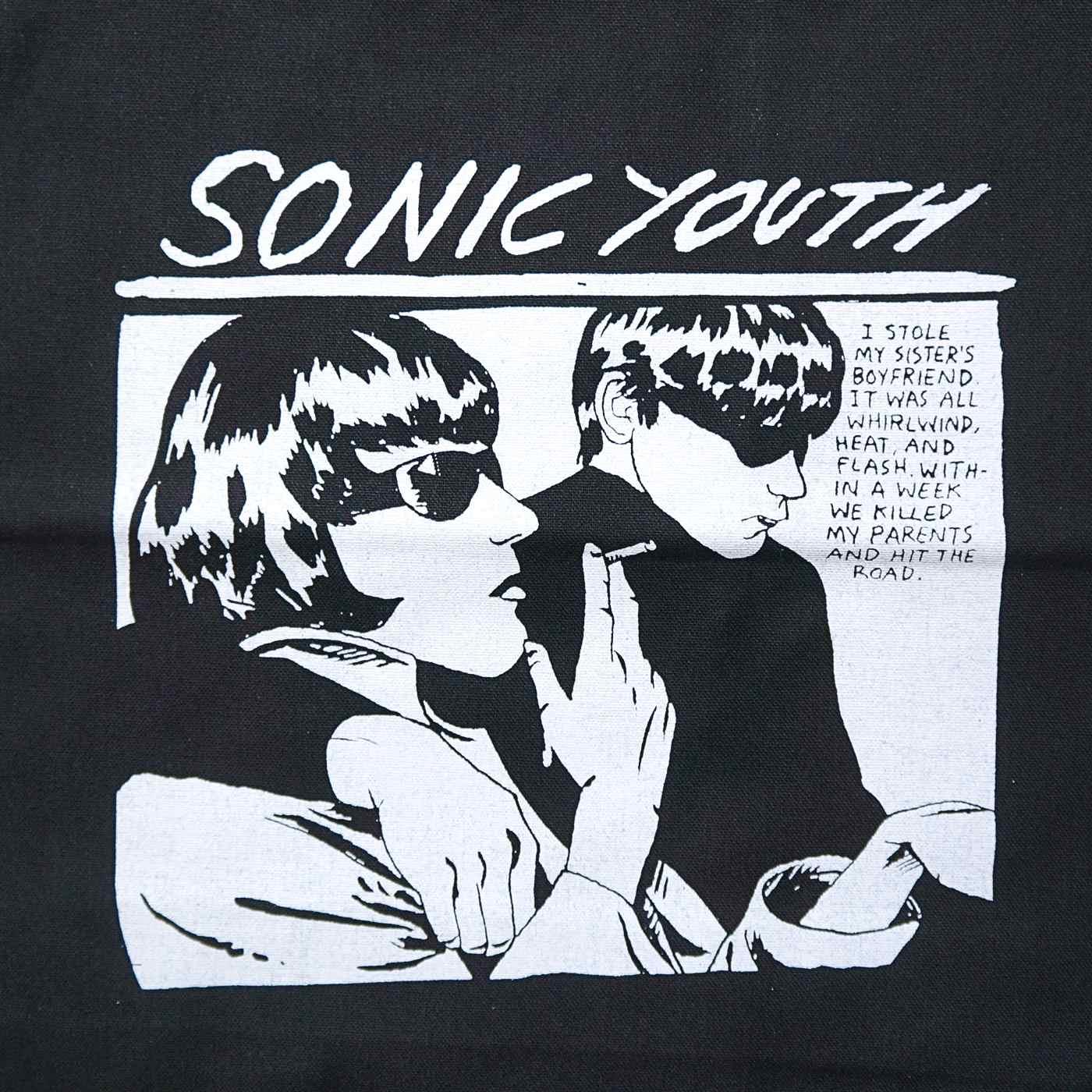 SONIC YOUTH ソニックユース トートバッグ Goo Tote-Black