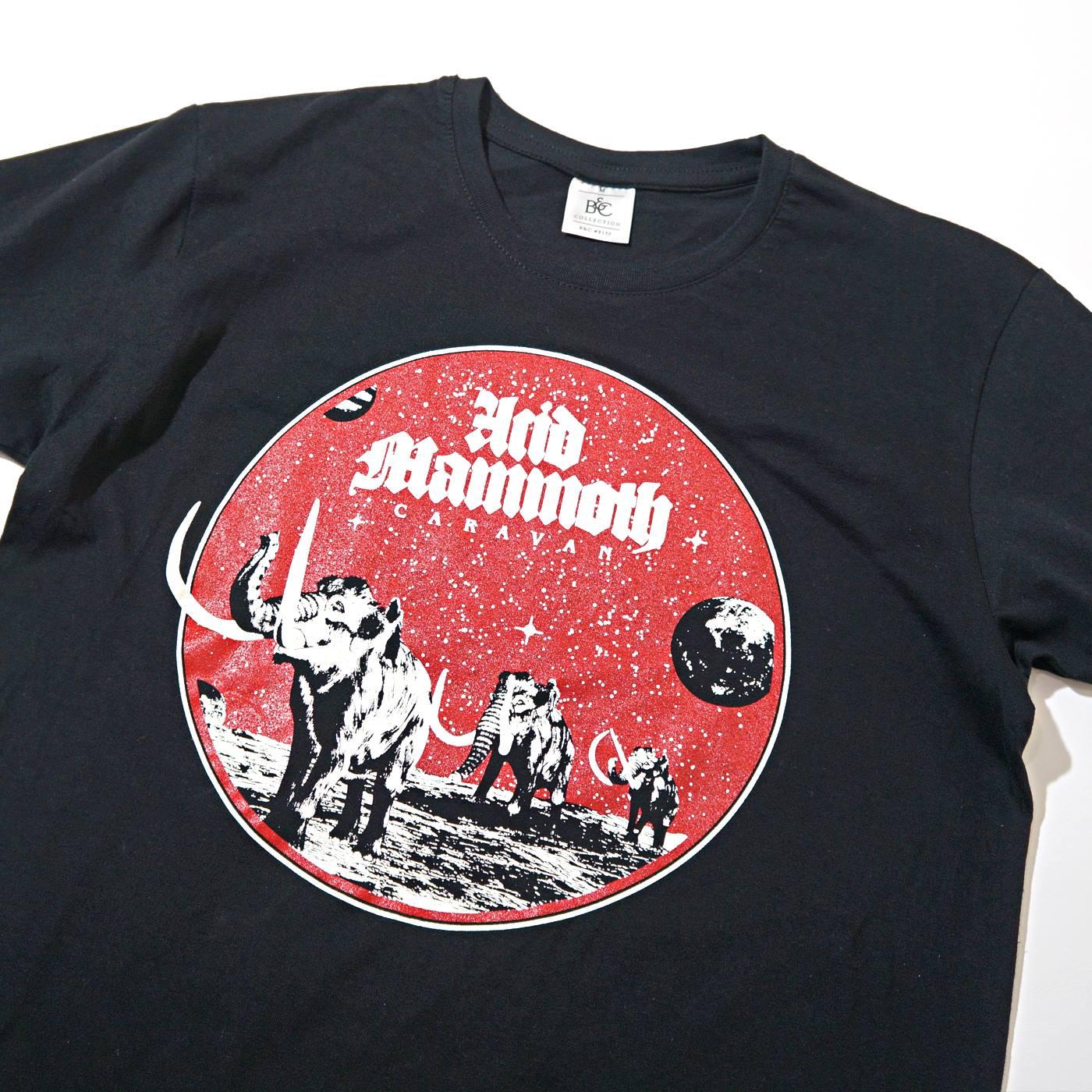 ACID MAMMOTH Tシャツ Caravan-Black