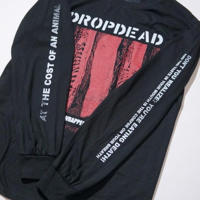 DROPDEAD バンド ロングスリーブシャツ Tradition-Black