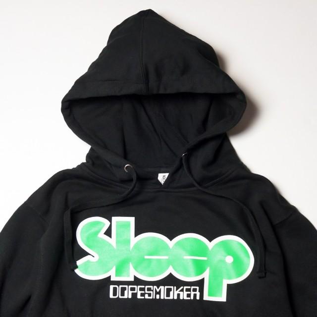 SLEEP(スリープ) パーカー Dopesmoker Logo Hoodie ロゴ-Black