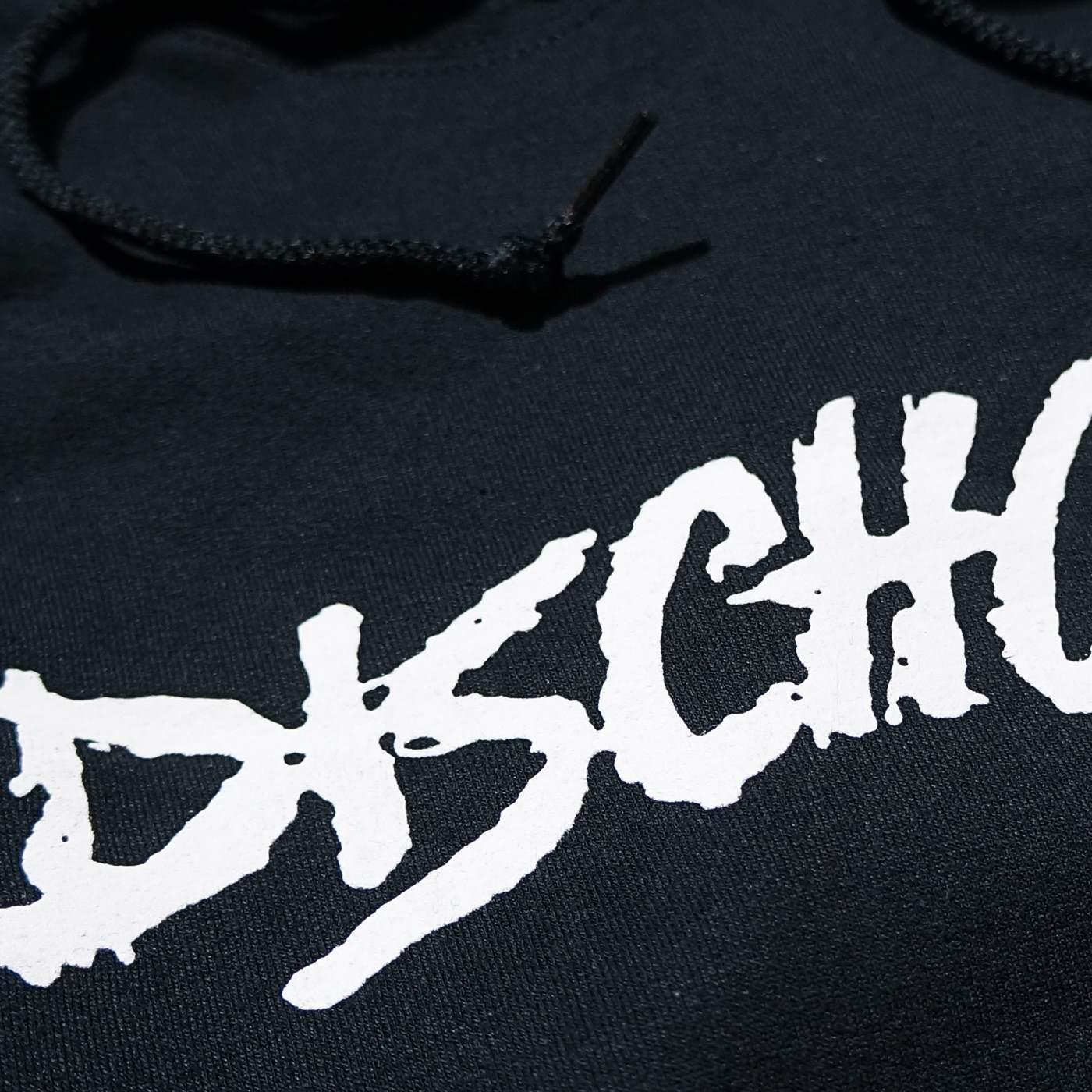 Dischord Records (ディスコード・レコード) パーカー Old Logo-ブラック/ホワイト
