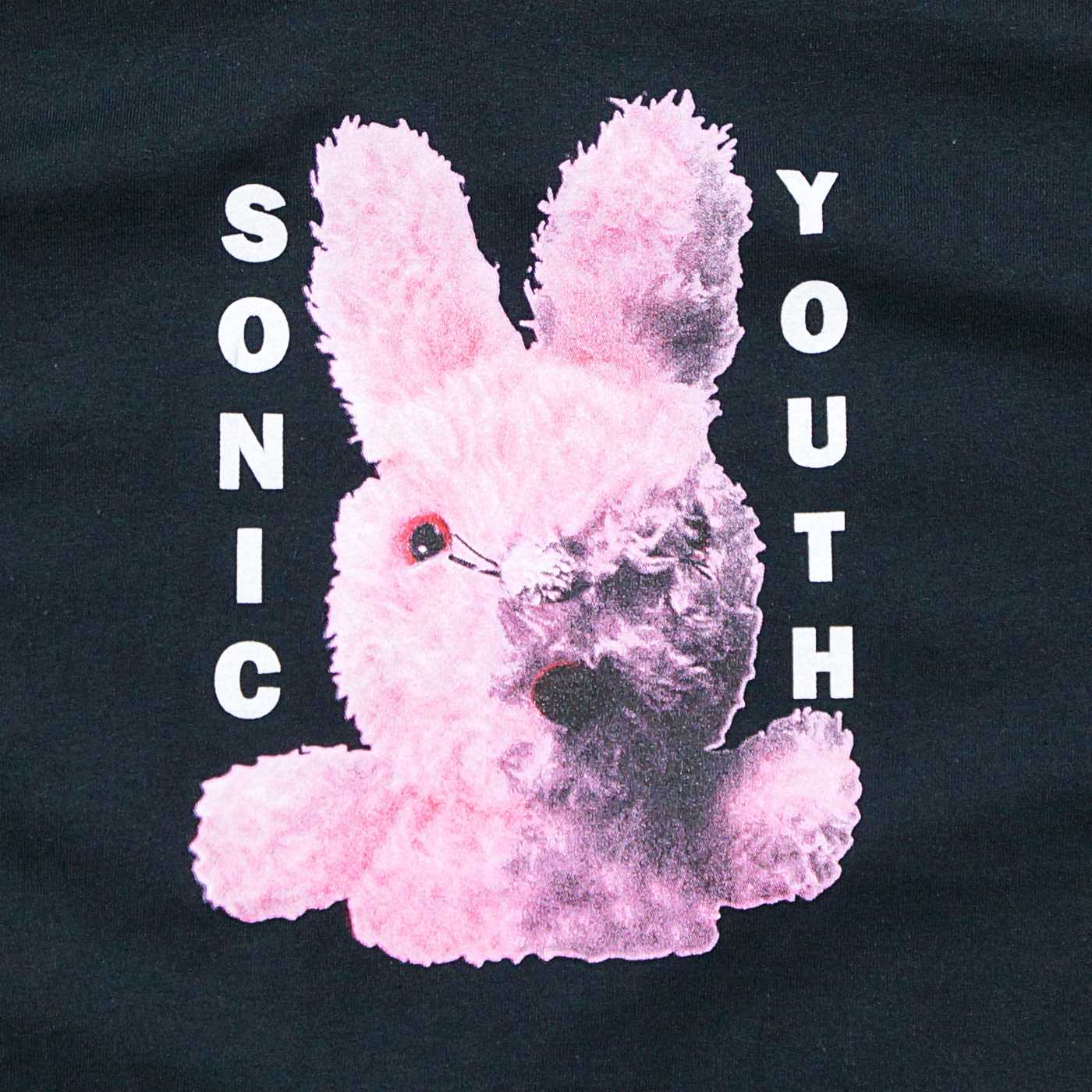SONIC YOUTH Tシャツ Dirty Bunny-Black