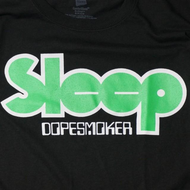 SLEEP(スリープ) バンドTシャツ/Dopesmoker-Logo ロゴ/Black