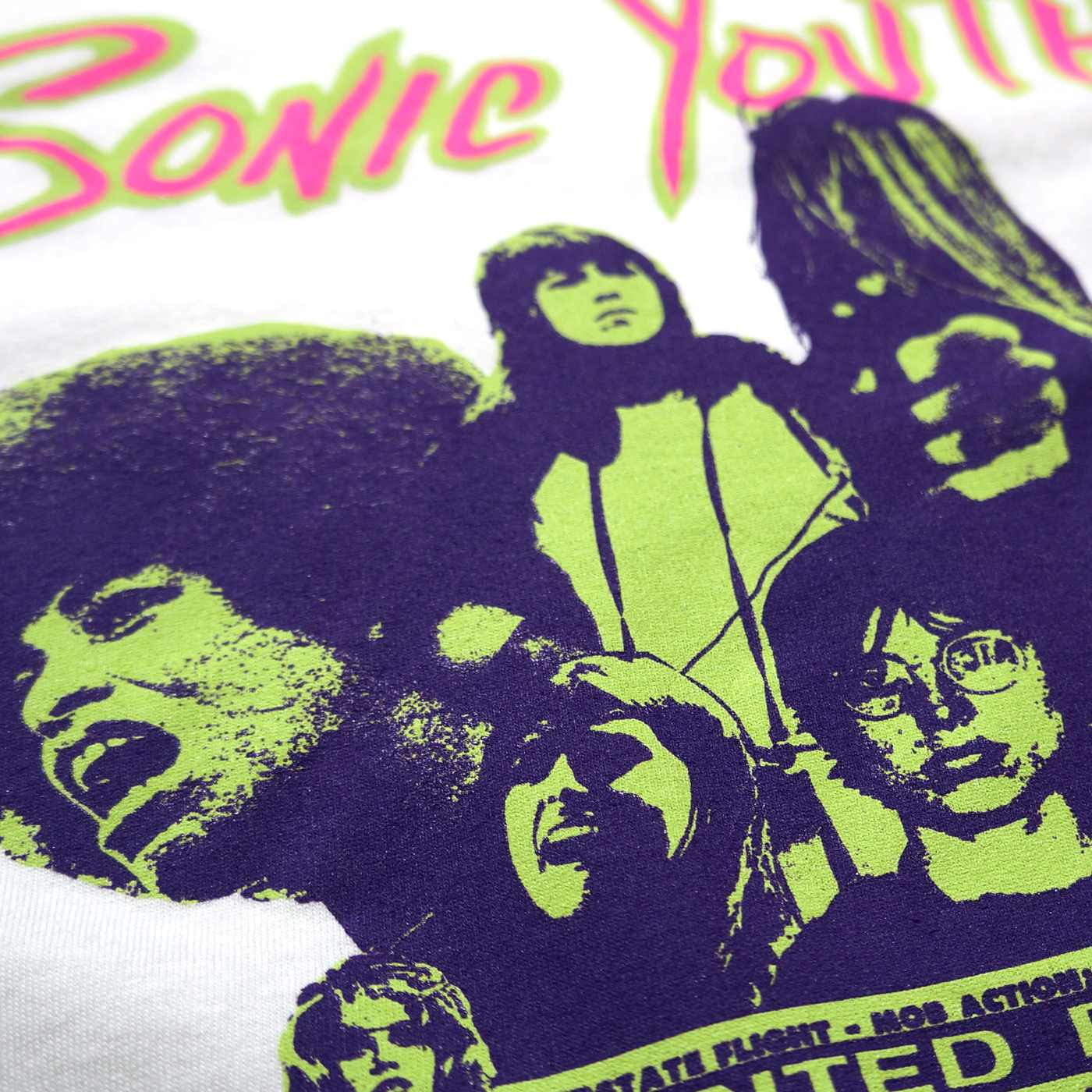 SONIC YOUTH Tシャツ Kool Thing-White
