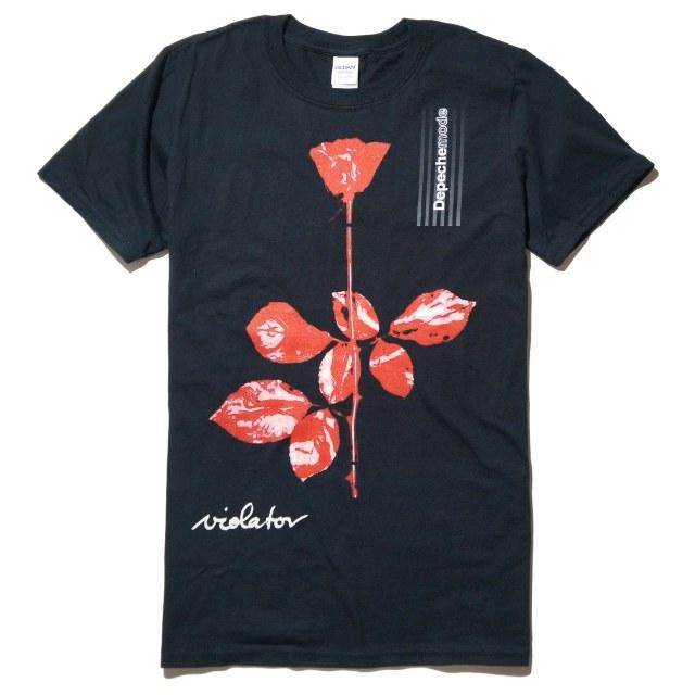 DEPECHE MODE (デペッシュ・モード) Tシャツ Violator - Black