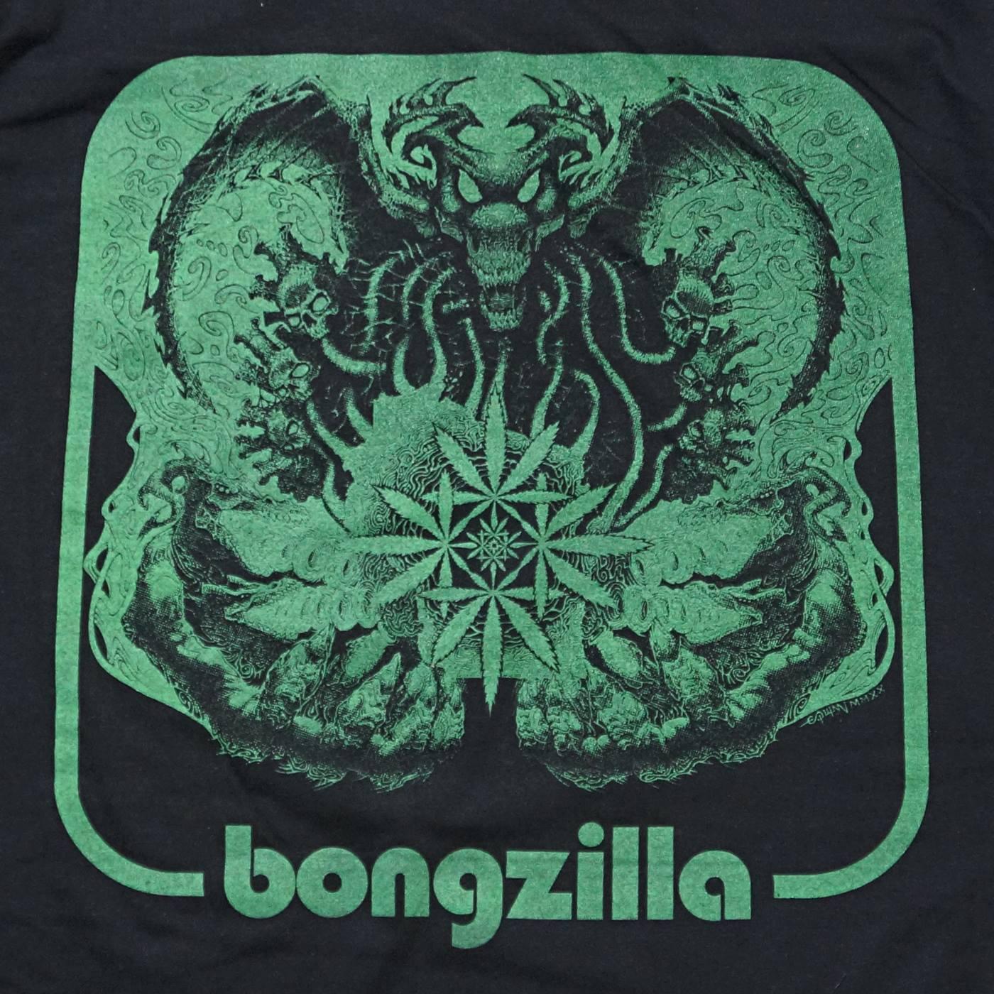 BONGZILLA Tシャツ Weedsconsin Cover-Black/Green
