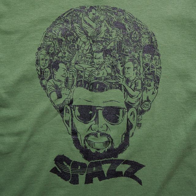 SPAZZ Tシャツ Game Of Shred - グリーン
