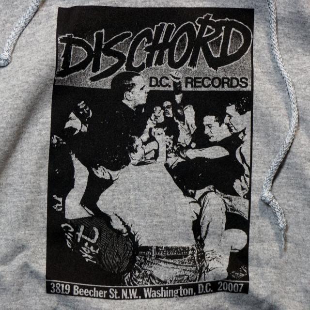 DISCHORD(ディスコード) 公式パーカー/1st Dischord グレー/ブラック