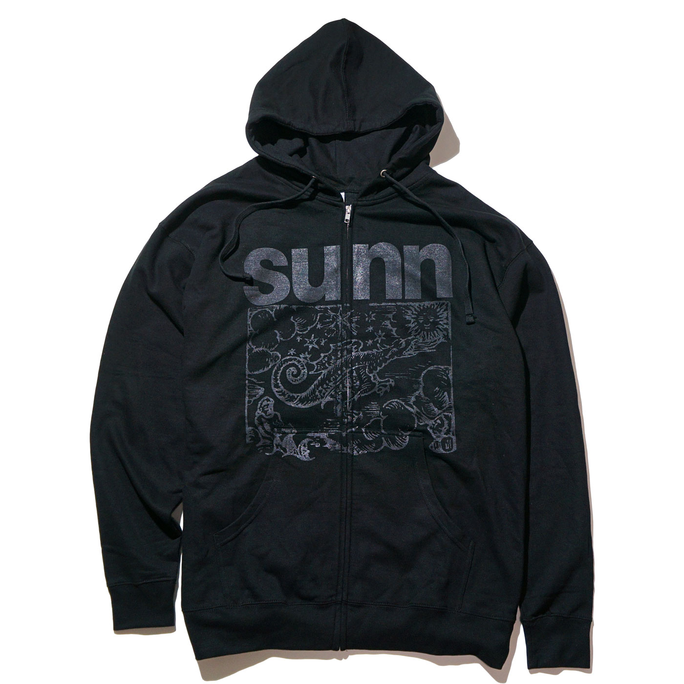 SUNN O))) ジップアップパーカー Flight of the Behemoth ZIP UP Hoodie