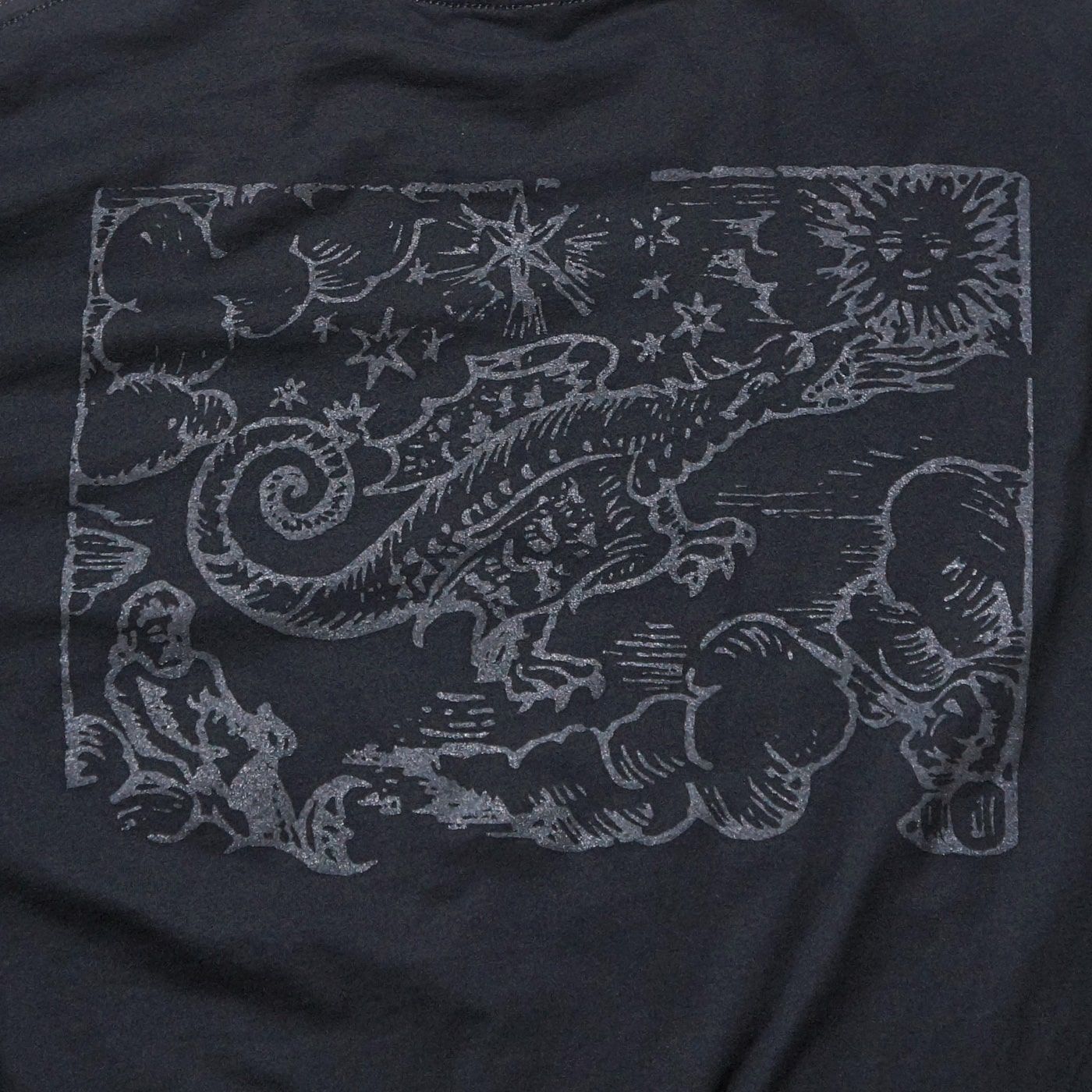 SUNN O))) Tシャツ Flight of the Behemoth Shirt-Black
