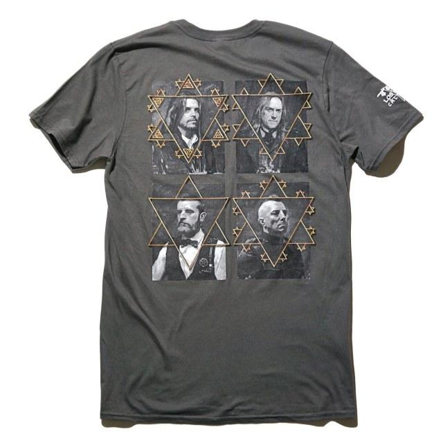 TOOL バンド Tシャツ Full Portraits-Grey
