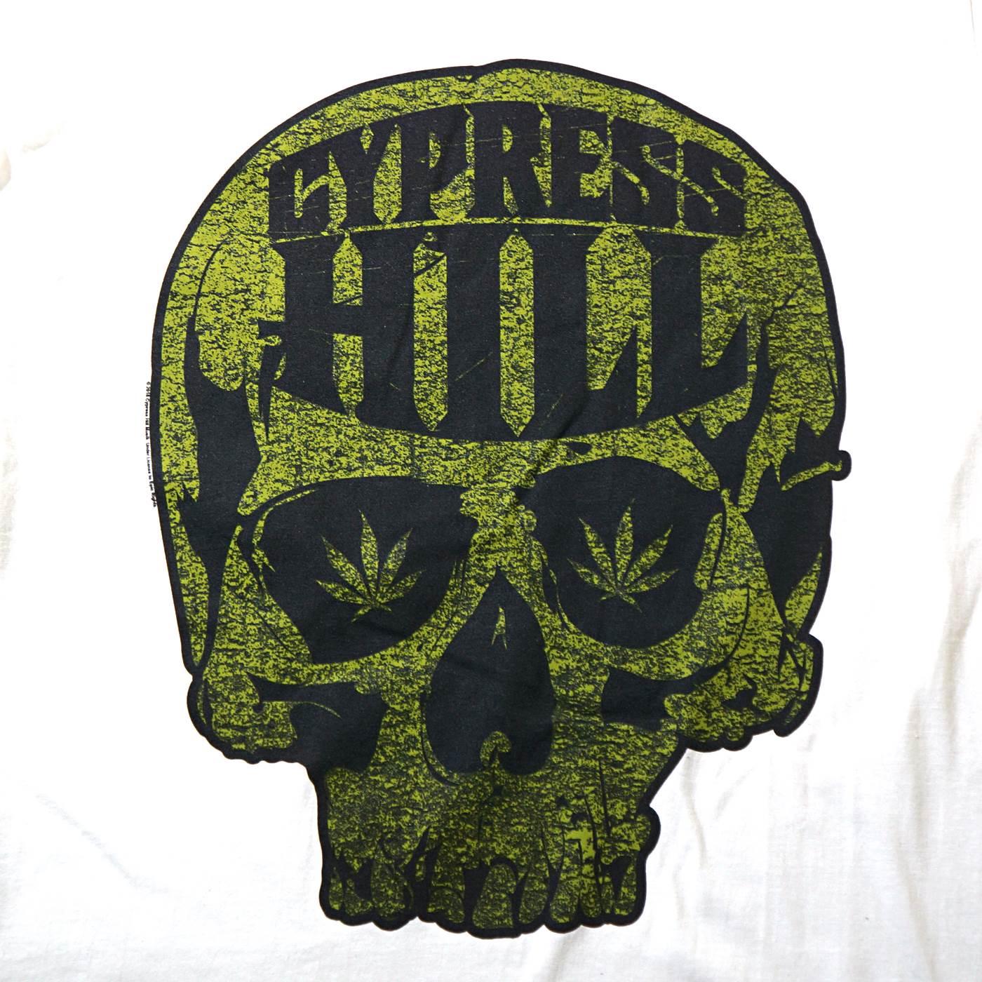 CYPRESS HILL Tシャツ Skull Logo-White