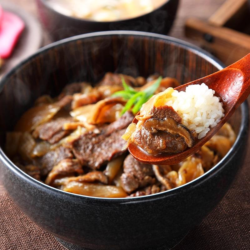 哲多すずらん食品加工 岡山和牛丼 5食セット TV「よーいドン」で紹介された牛丼