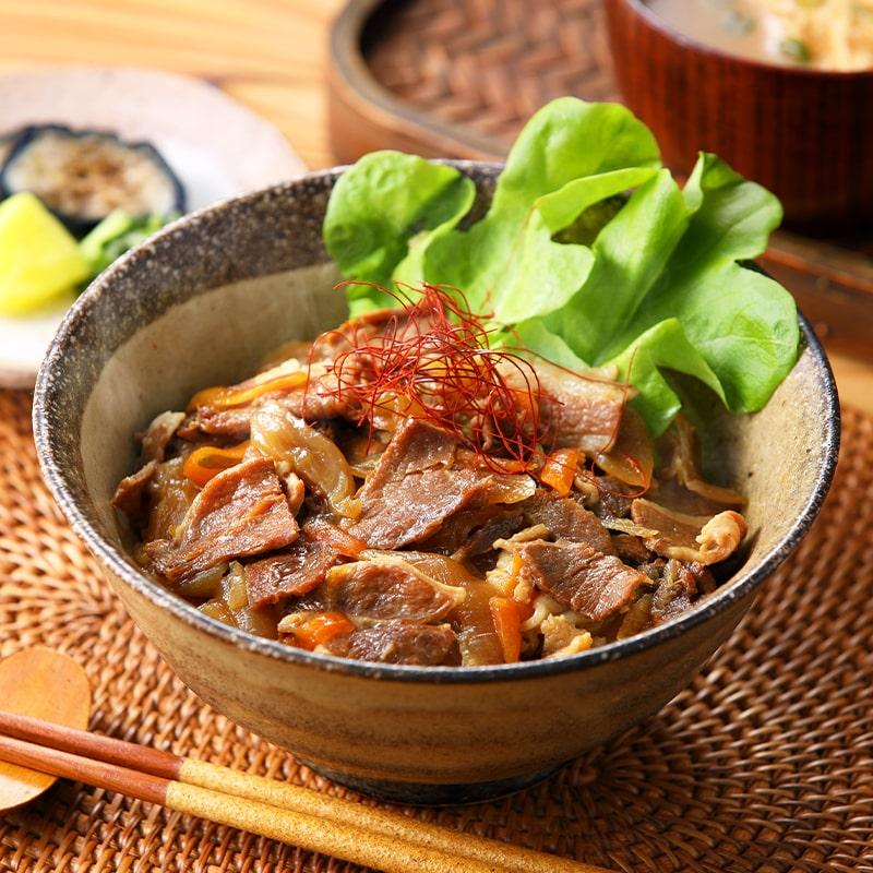 哲多すずらん食品加工 岡山味豚丼(あじぶたどん) 5食セット