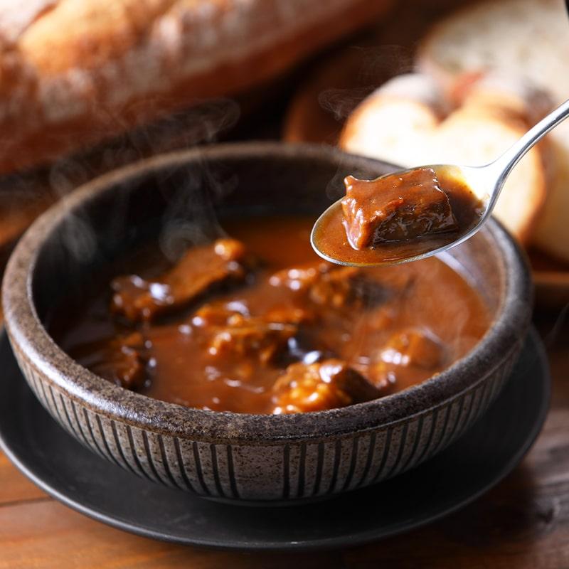 哲多すずらん食品加工 岡山和牛シチュー 5食セット