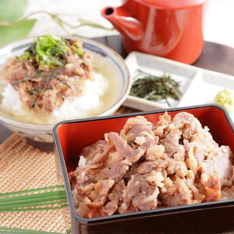 味紀行うち川 牛肉商「徳志満」近江牛ひつまぶし 4人前 冷凍便