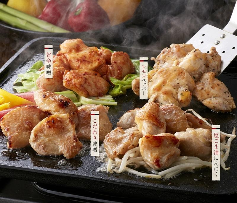 トリゼンフーズ 博多華味鳥 鶏トロジューシー焼きセット 冷凍便 [TJC-4]